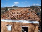 Dřevěné příhradové vazníky