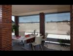Venkovní screenové rolety - stínicí clony na okna, prosklené plochy, zimní zahrady