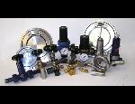 Manopříslušenství – tlakoměrové kohouty, ventily, kondenzační smyčky a tlumiče rázu