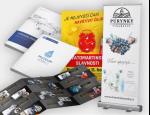 Grafické práce a tisk – loga, tiskoviny, brožury, obaly, dárková balení, výroba webů