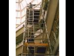 Fasádní a pojízdná lešení, žebříkové lešení, teleskopické lávky – prodej, pronájem