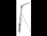 Žebříkové výtahy a zdvihadla GEDA, LARZ - rychlá doprava krytiny na střechy
