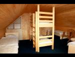 Komfortní ubytování pro rodiny s dětmi v Orlických horách, dětské hřiště a pískoviště