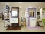 Koupelnové studio Kroměříž, výběr sanitární keramiky, obkladů a doplňků v e-shopu