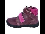 Odlehčená vycházková i domácí dětská obuv Barefoot s odolnou podešví