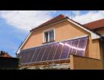 Ohřev vody solárními panely VacuSol – český výrobek s certifikací