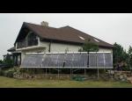 Vakuové solární panely na principu tepelné či koaxiální trubice