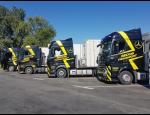Nákladní doprava, přesun hmot těžkými nákladními vozidly, jeřábnické práce