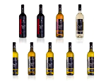 Bílá, růžová a červená vína z vinařství Kukla, výroba a skladování vín
