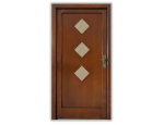 Vchodové dřevěné a dřevohliníkové dveře do bytových i nebytových objektů
