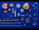 Bižuterní komponenty – náušnicové díly, brožová mechanika, bižuterní lanka a šňůry
