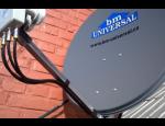 Anténní technika, digitální a satelitní systémy Skylink, EZS a CCTV, slaboproudé rozvody