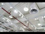 Průmyslová vzduchotechnika, větrání průmyslových hal, rekuperace