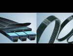 Řemeny, řetězy a strojní komponenty pro pohony