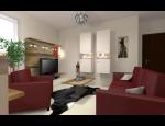 Návrhy obývacích pokojů - od vizualizace až po realizaci