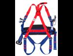 Ochrana proti pádu při práci ve výškách – lana, pásy, postroje, karabiny, helmy