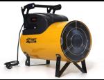 Teplovzdušná topidla a závěsné ventilátory