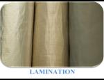 Laminov�n� roho�� z netkan� textilie KOBEMAT� a KOBEFIBER jednostrann� i oboustrann�