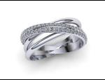 Zakázková výroba briliantových šperků, briliantové prsteny, náušnice, náhrdelníky