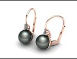 Perlové šperky, zlaté šperky – prsteny, náušnice, přívěsky s perlou a briliantem