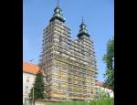 Fasádní a modulová lešení, schodišťové věže Ostrava, Brno, Praha, České Budějovice