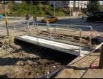 Kvalitní mobilní oplocení i k pronájmu, mobilní schodiště a přechodové lávky