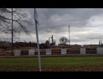Realizace dočasných staveb díky betonovým blokům od betonárny Andrla CZ