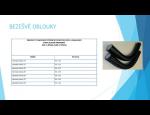 Plastový spojovací materiál k potrubí – tvarovky, oblouky, fitinky, spojky