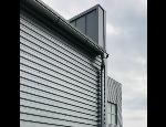 Trapézové plechy jak střešní panely, fasádní opláštění, konstrukční profily, podhledy