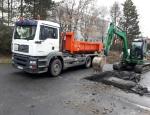 Zemní a výkopové práce vlastní technikou v Moravskoslezském kraji, pronájem kontejnerů