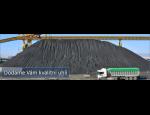 Zásobování pevnými palivy zákazníků i uhelných skladů v tuzemsku a zahraničí