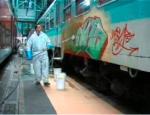 Odstranění a prevence graffiti na fasádách domů, plotech, stěnách
