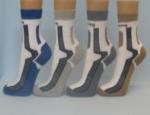 Antibakteriální ponožky se stříbrem pro dlouhodobé nošení bez potu a zápachu
