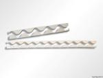 PE profilové těsnění pro vlnovky střešních krytin a stavební panely