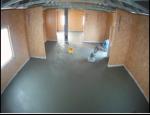 Hlazené cementové potěry na podlahy rodinných domů, obchodů, škol