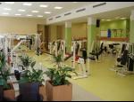 Fitness sál s funkční zónou ve špičkovém wellness centru HEALTH PARK Opava