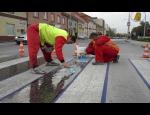 Mechanické úpravy pozemních komunikací, opravy dálnic, silnic, letišť