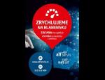 Vysokorychlostní optické a bezdrátové připojení k internetu v Blansku