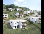 Bytová výstavba ve Zlíně a Ostravě, rodinné domy a viladomy na okraji Zlína