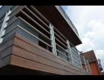 Dřevěné fasády, dřevo upravené technologií Thermowood, dlouhá životnost a skvělé tepelně izolační vlastnosti