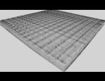 Svařované a listované podlahové rošty, které zajistí pevný pochozí povrch s rovnoměrným rozložením zátěže