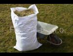 Polypropylenové pytle pro uskladnění obilí, cukru či luštěnin, síťované pytle na brambory i zeleninu