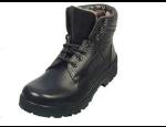 Kotníková zimní pánská obuv k uniformám a letní perforované polobotky Gruna