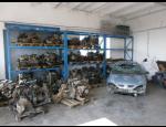 Autovrakoviště, výkup starých nepojízdných vozidel, prodej použitých autodílů na náhradní díly