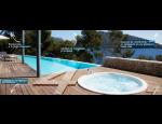 Bazény venkovní i do interiérů, mobilní nadzemní bazény, veřejné bazény Desjoyaux