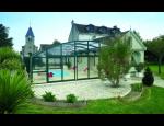 Nízké bazénové zastřešení, polovysoké nebo podchozí zastřešení bazénů