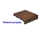 Venkovn� hlin�kov� parapety, plastov� a d�evot��skov� vnit�n� parapety