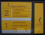 Orientační systémy a tabule, směrové tabule, směrovky