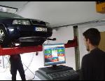 Seřízení geometrie kol pro zachování stability vozidla