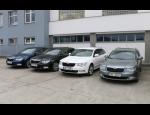Autop�j�ovna, n�hradn� vozidla �koda a Volkswagen